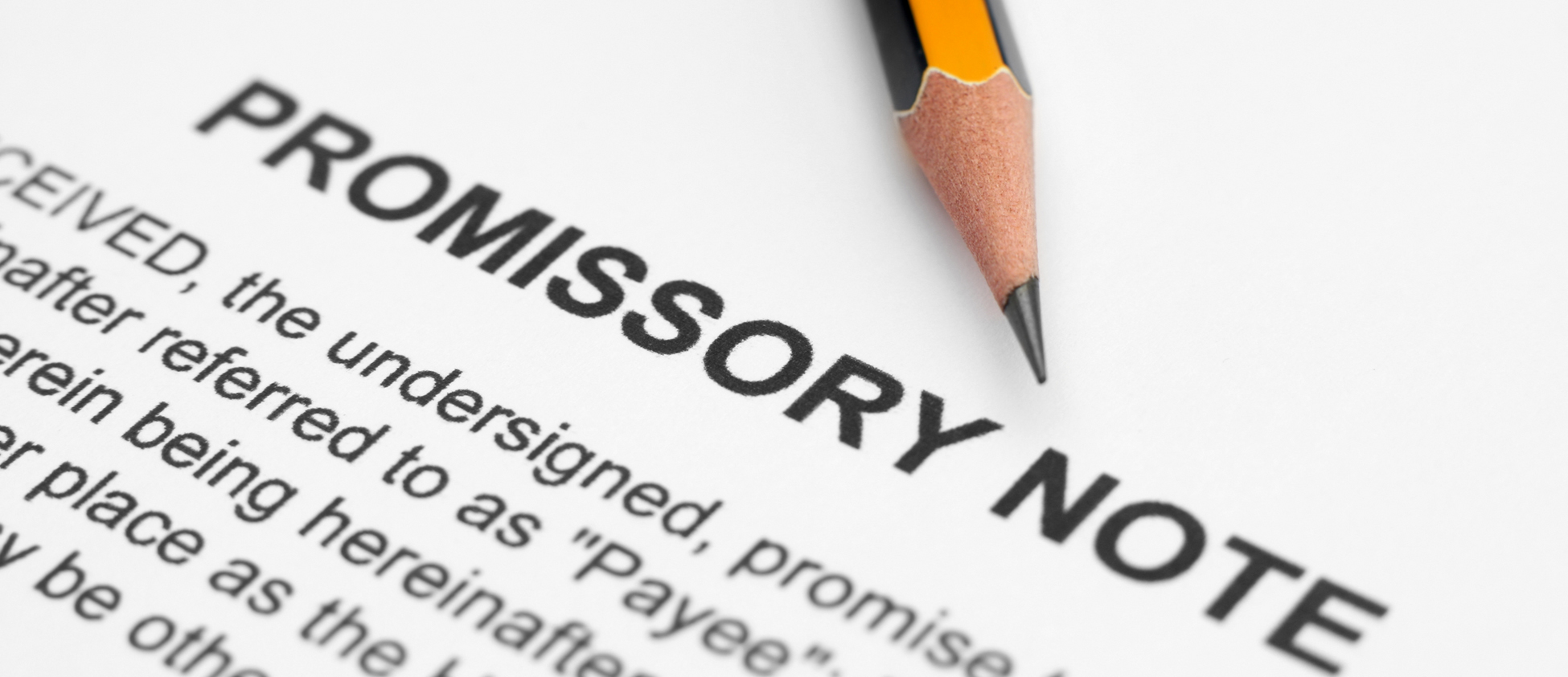 promissory notes lawyer